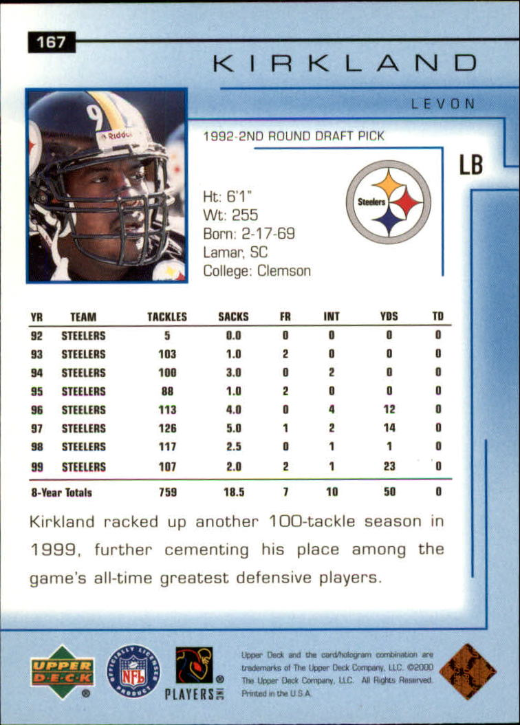 2000-Upper-Deck-Football-Card-039-s-1-200-You-Pick-Buy-10-cards-FREE-SHIP thumbnail 223