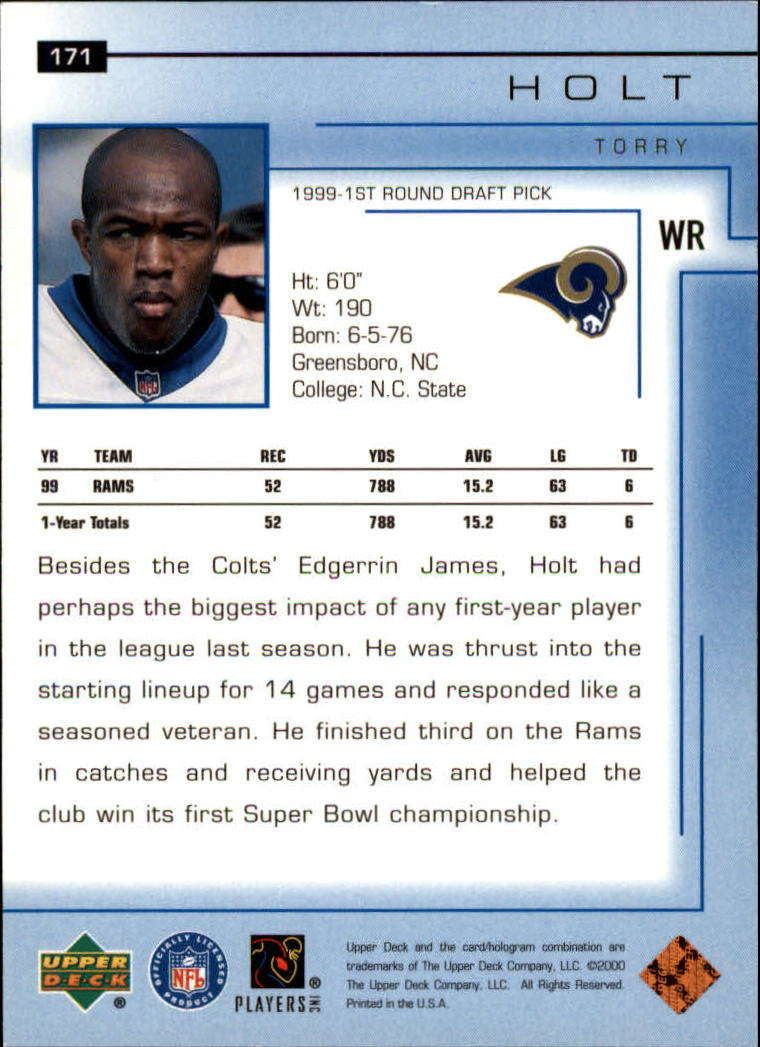 2000-Upper-Deck-Football-Card-039-s-1-200-You-Pick-Buy-10-cards-FREE-SHIP thumbnail 227