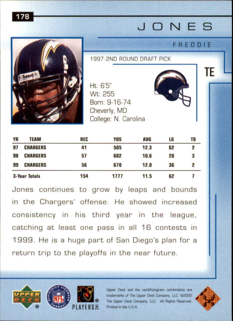 2000-Upper-Deck-Football-Card-039-s-1-200-You-Pick-Buy-10-cards-FREE-SHIP thumbnail 241