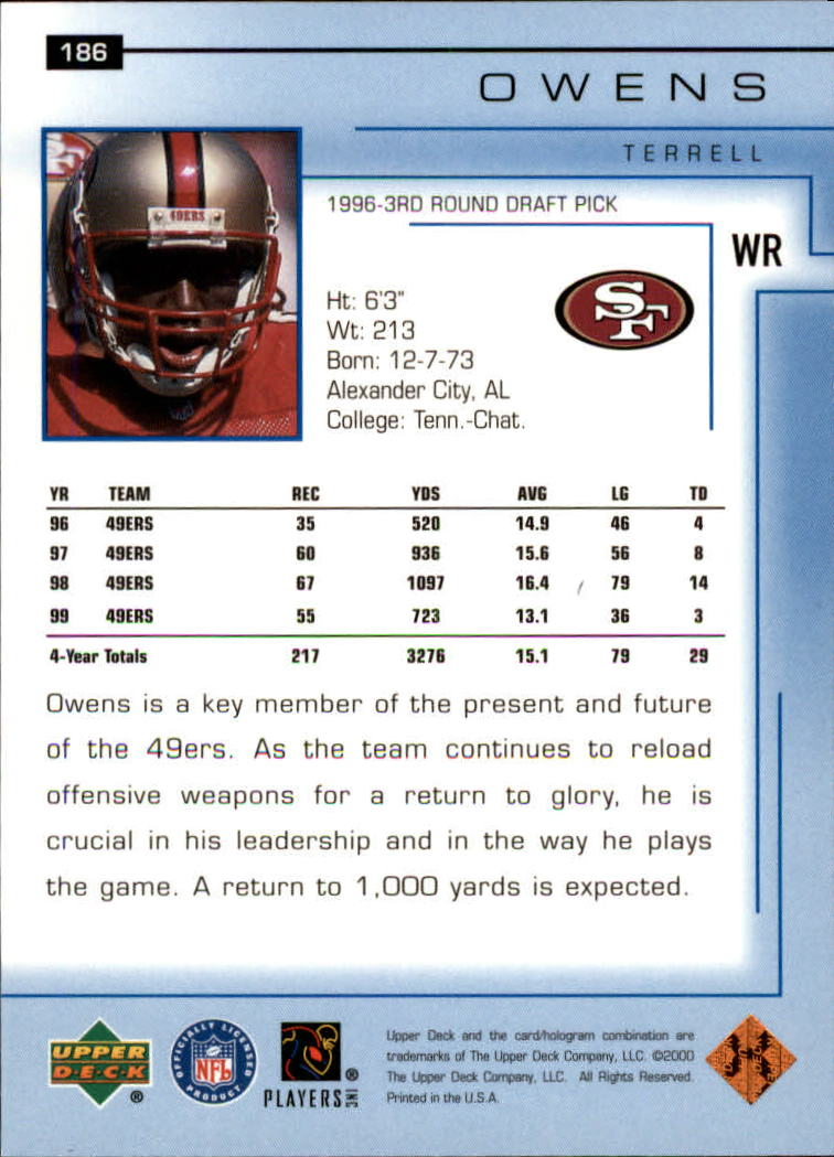 2000-Upper-Deck-Football-Card-039-s-1-200-You-Pick-Buy-10-cards-FREE-SHIP thumbnail 251