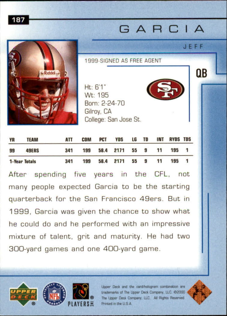 2000-Upper-Deck-Football-Card-039-s-1-200-You-Pick-Buy-10-cards-FREE-SHIP thumbnail 253