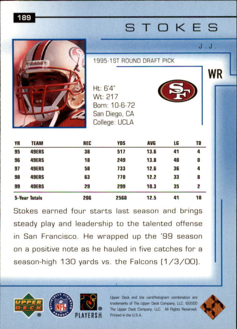 2000-Upper-Deck-Football-Card-039-s-1-200-You-Pick-Buy-10-cards-FREE-SHIP thumbnail 257