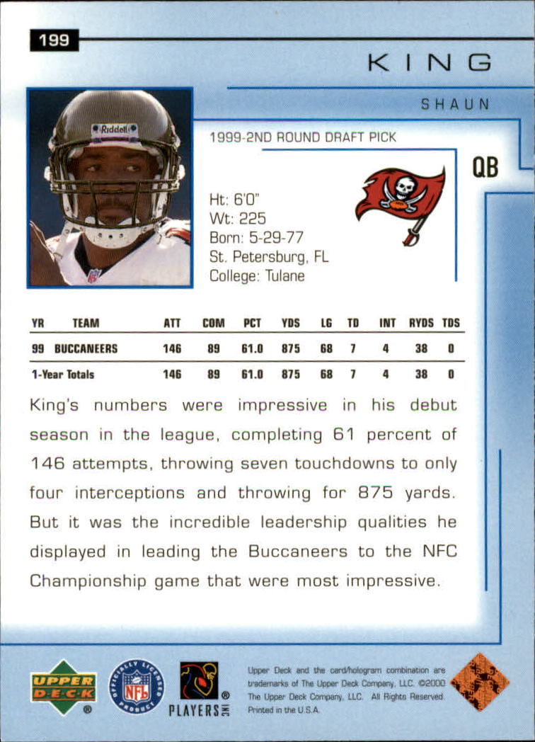 2000-Upper-Deck-Football-Card-039-s-1-200-You-Pick-Buy-10-cards-FREE-SHIP thumbnail 267