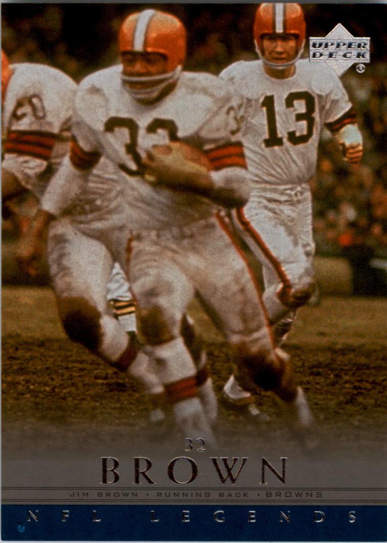 2000 Upper Deck Legends #11 Jim Brown