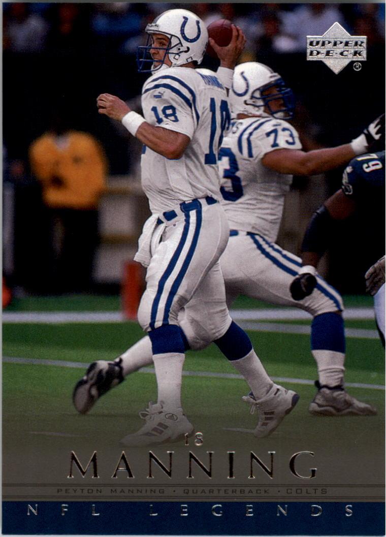 2000 Upper Deck Legends #26 Peyton Manning