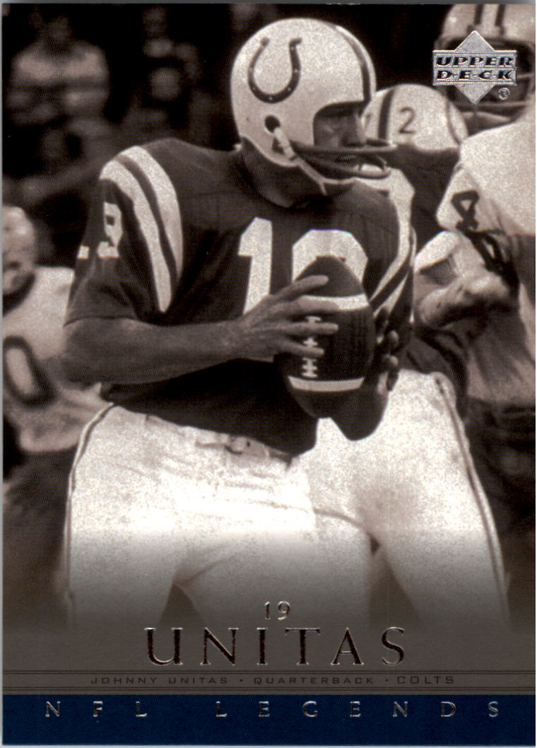 2000 Upper Deck Legends #28 Johnny Unitas