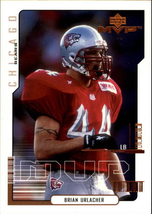 2000 Upper Deck MVP #192 Brian Urlacher RC