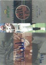 2000 Upper Deck MVP Game Used Souvenirs Autographs #ASA Akili Smith