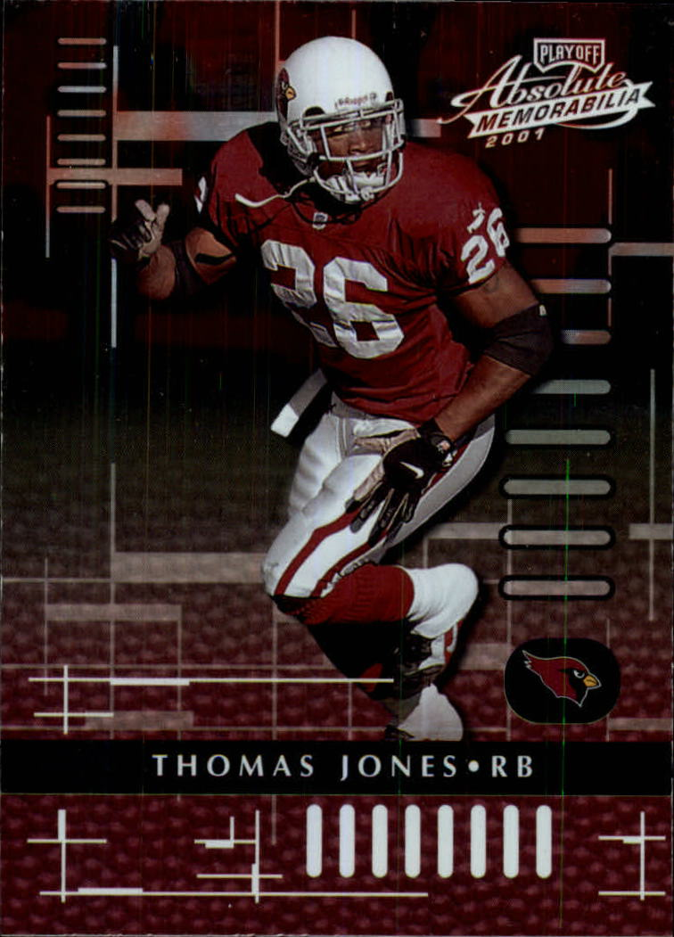 2001 Absolute Memorabilia #3 Thomas Jones