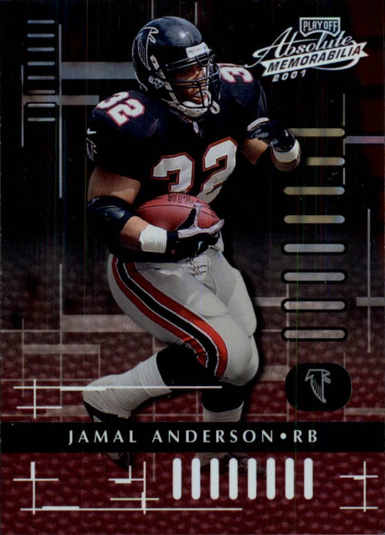 2001 Absolute Memorabilia #4 Jamal Anderson