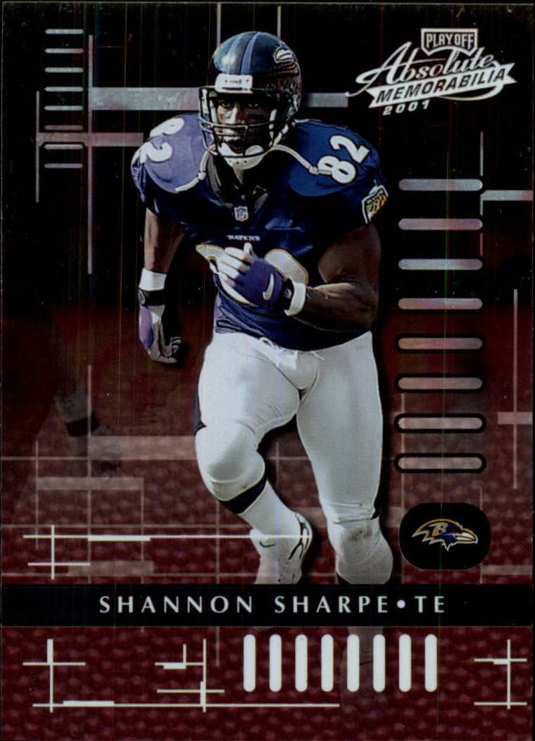 2001 Absolute Memorabilia #9 Shannon Sharpe