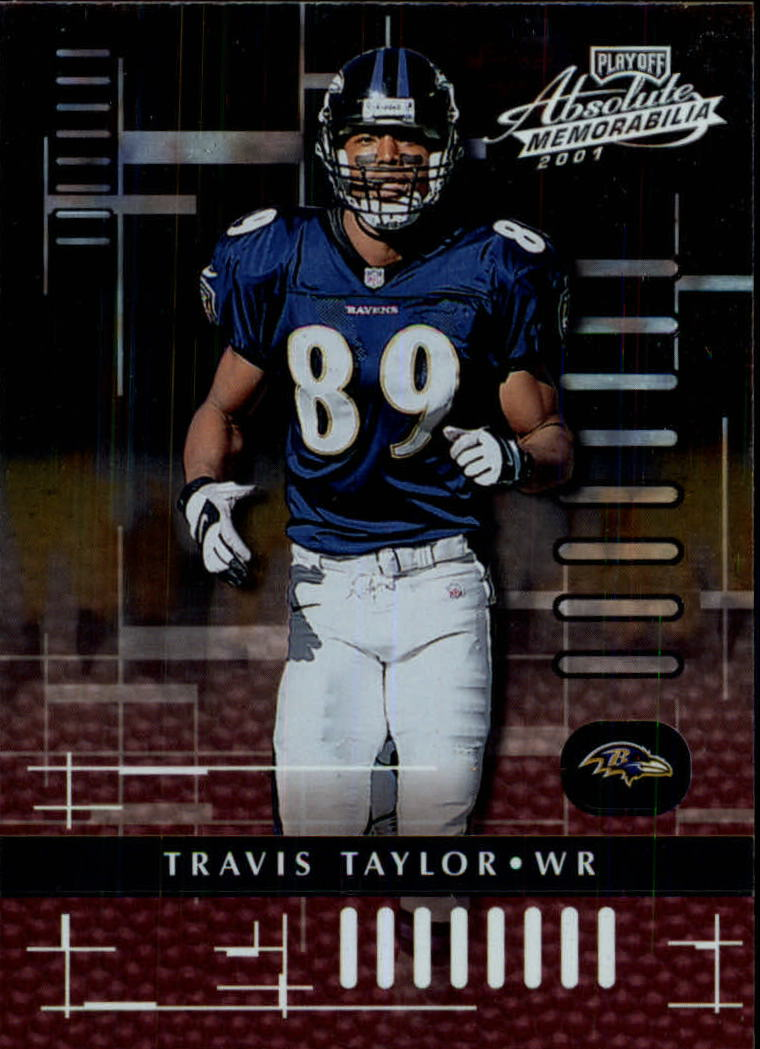 2001 Absolute Memorabilia #10 Travis Taylor