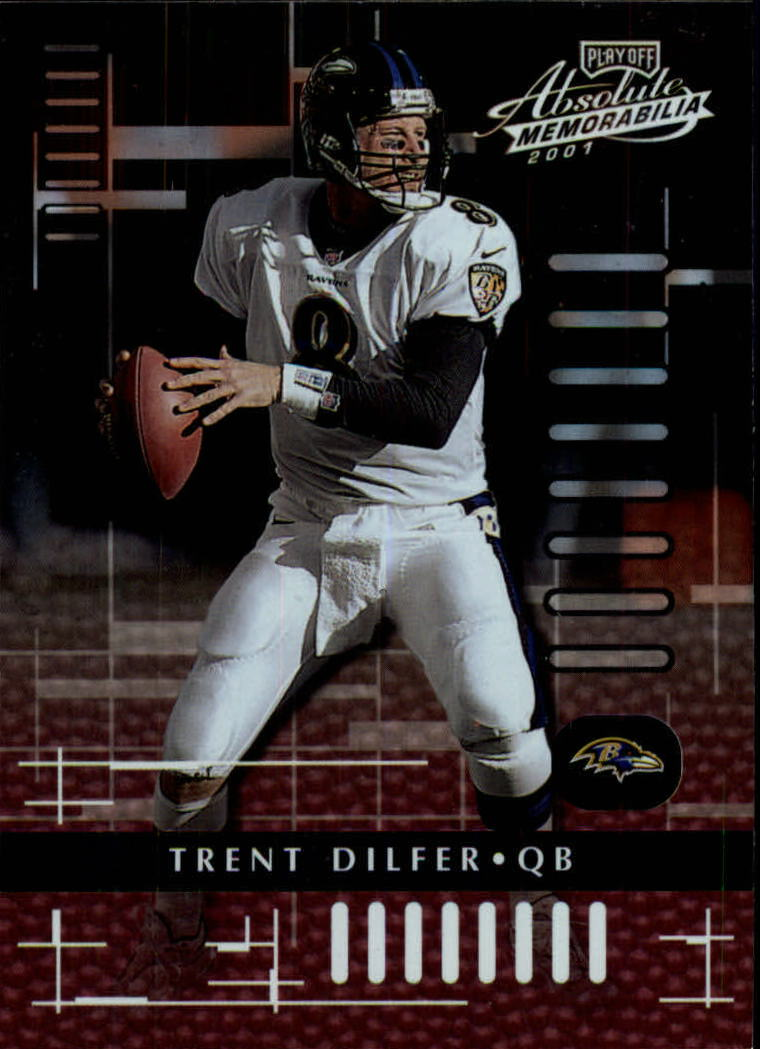 2001 Absolute Memorabilia #11 Trent Dilfer