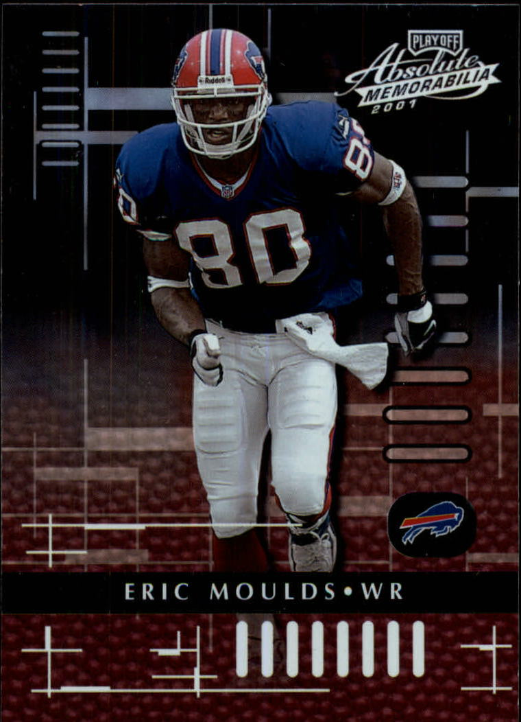 2001 Absolute Memorabilia #13 Eric Moulds