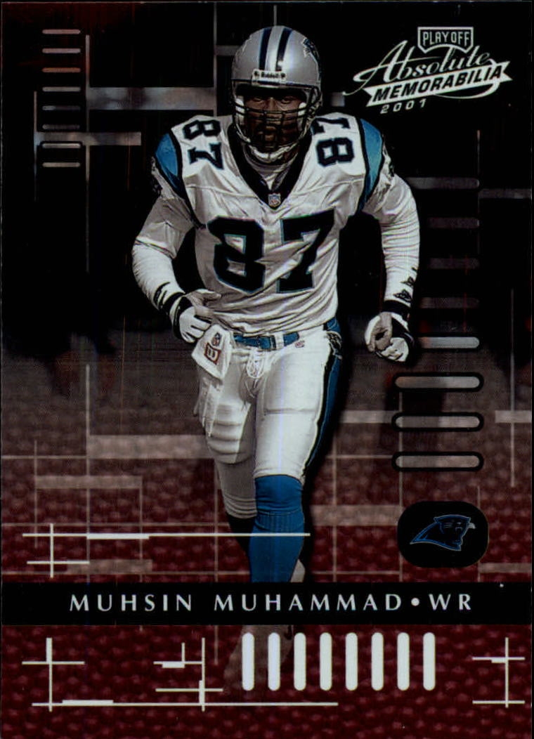 2001 Absolute Memorabilia #15 Muhsin Muhammad