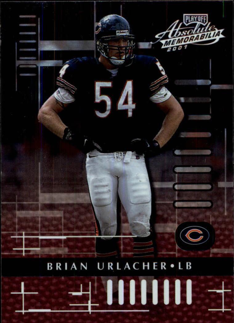 2001 Absolute Memorabilia #16 Brian Urlacher