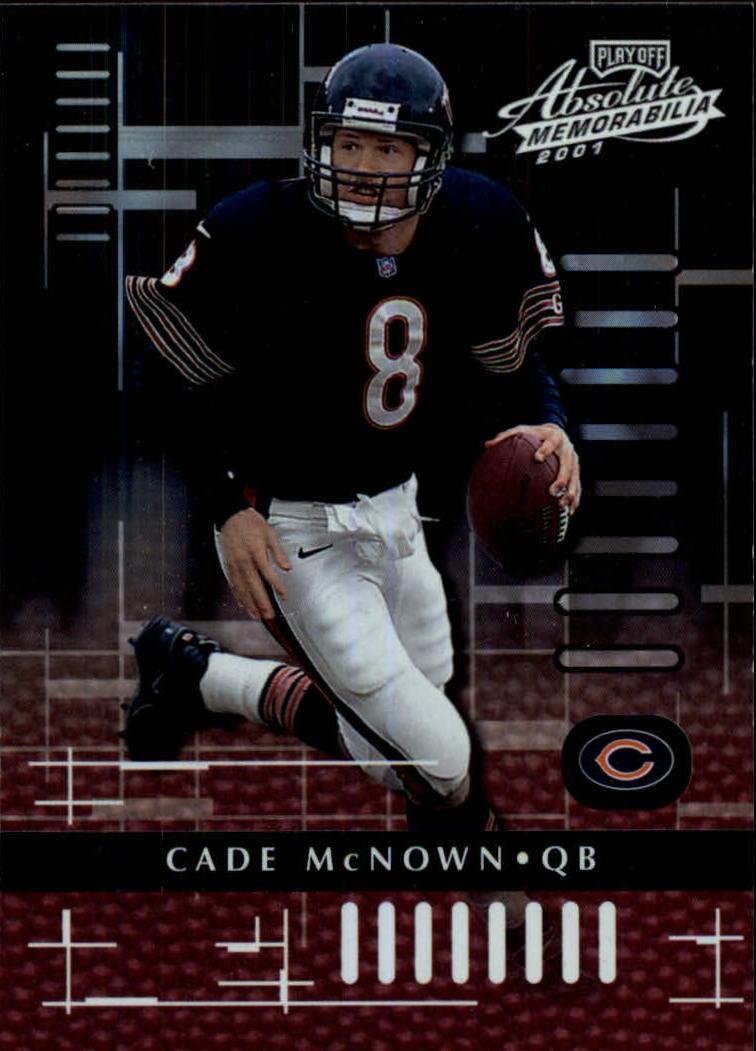 2001 Absolute Memorabilia #17 Cade McNown