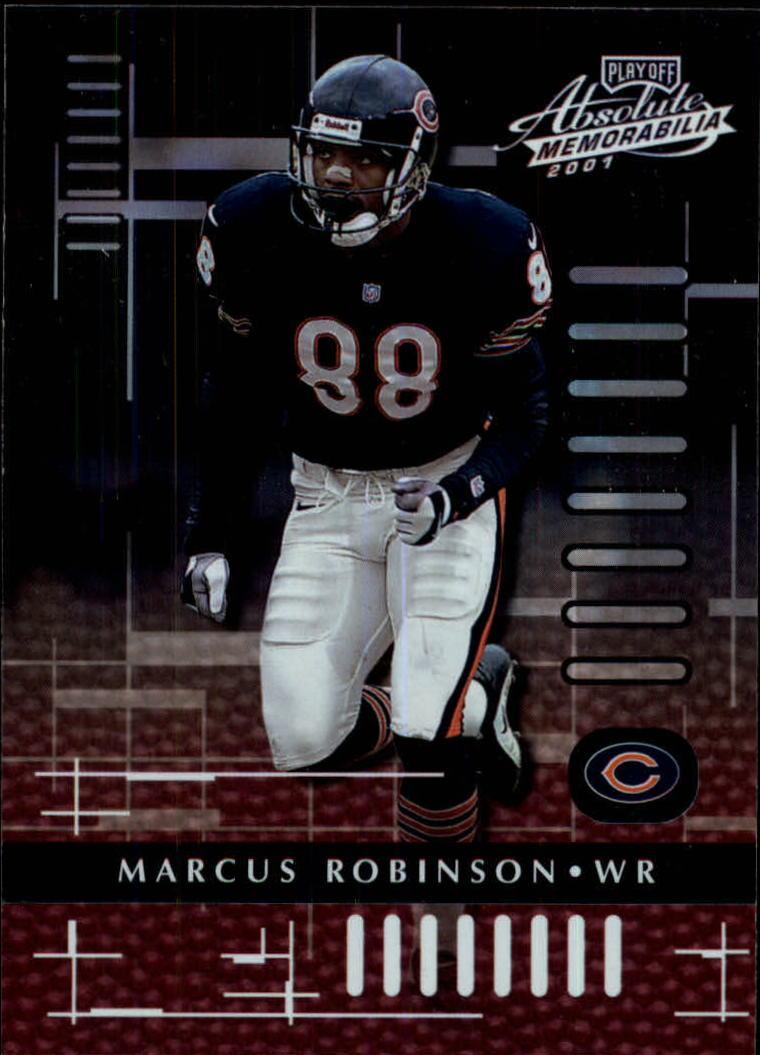 2001 Absolute Memorabilia #18 Marcus Robinson