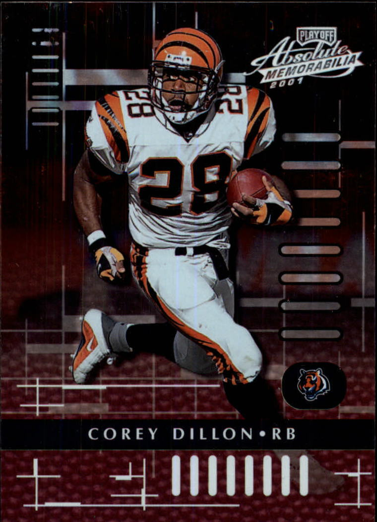 2001 Absolute Memorabilia #20 Corey Dillon