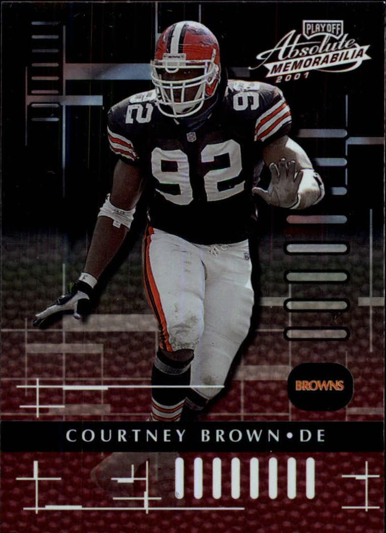 2001 Absolute Memorabilia #22 Courtney Brown