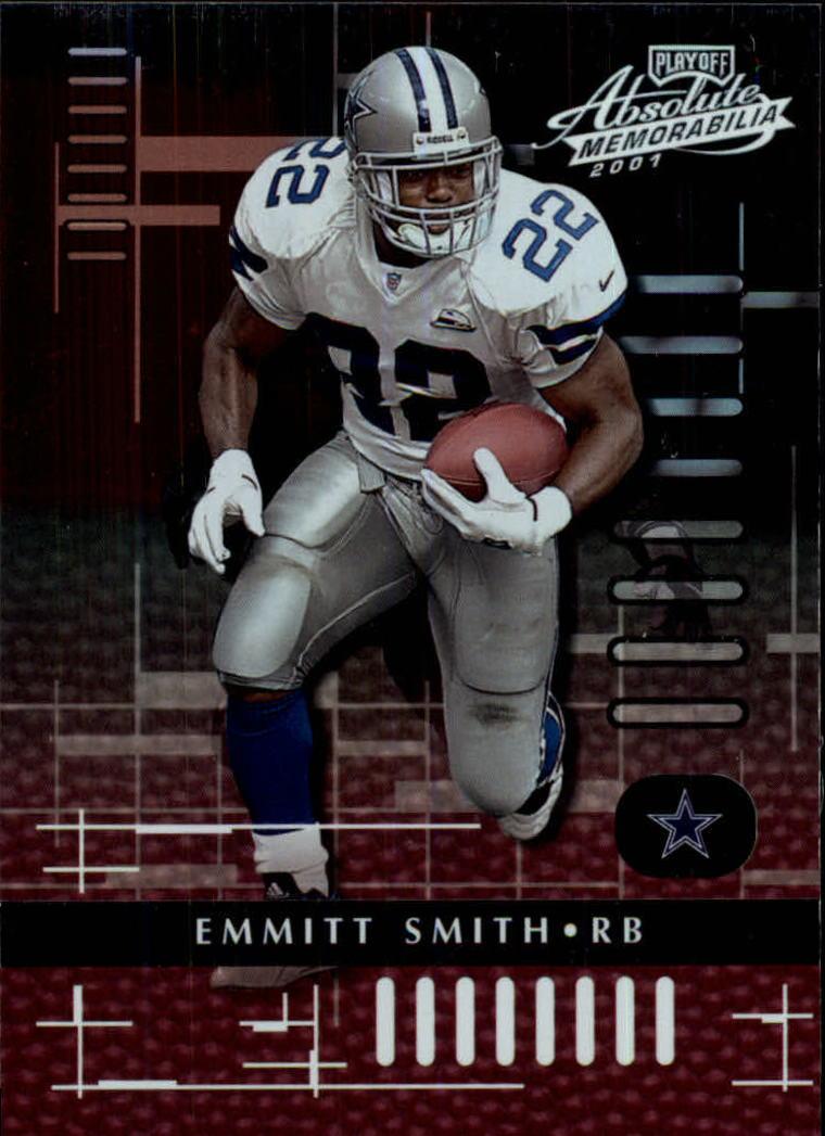 2001 Absolute Memorabilia #24 Emmitt Smith