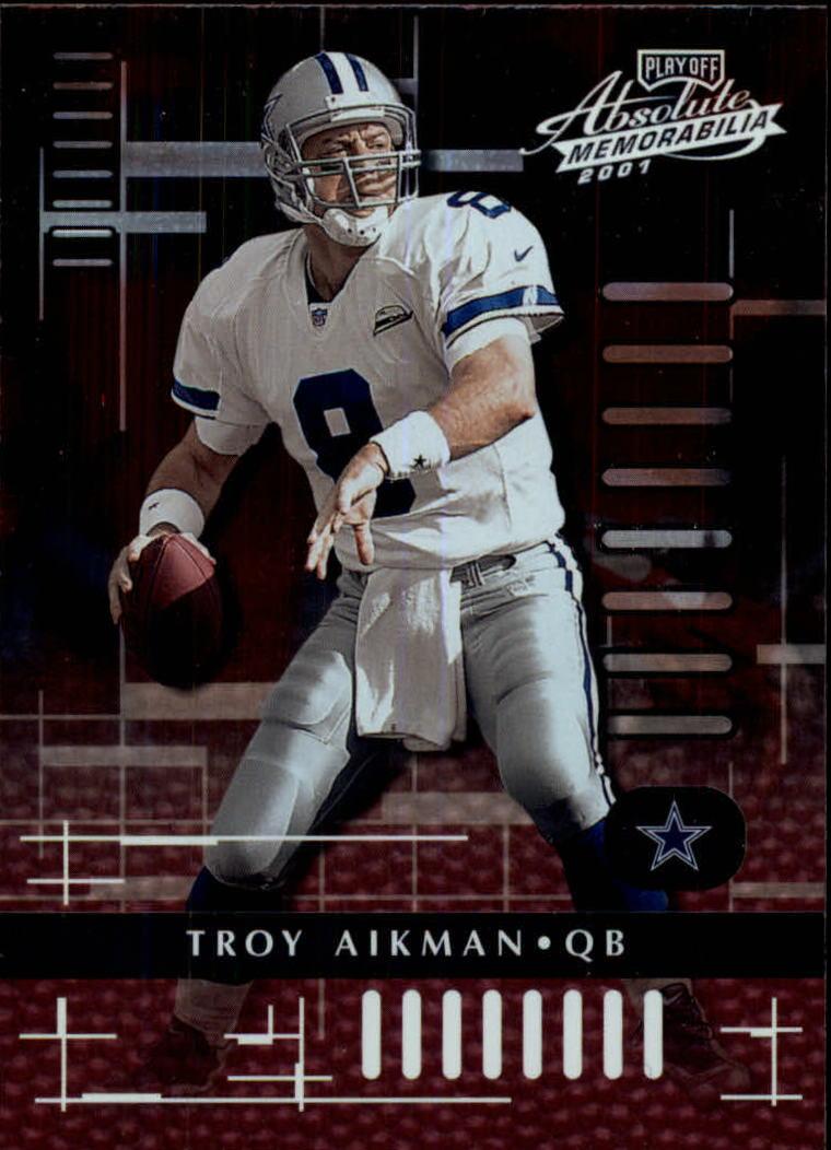 2001 Absolute Memorabilia #25 Troy Aikman
