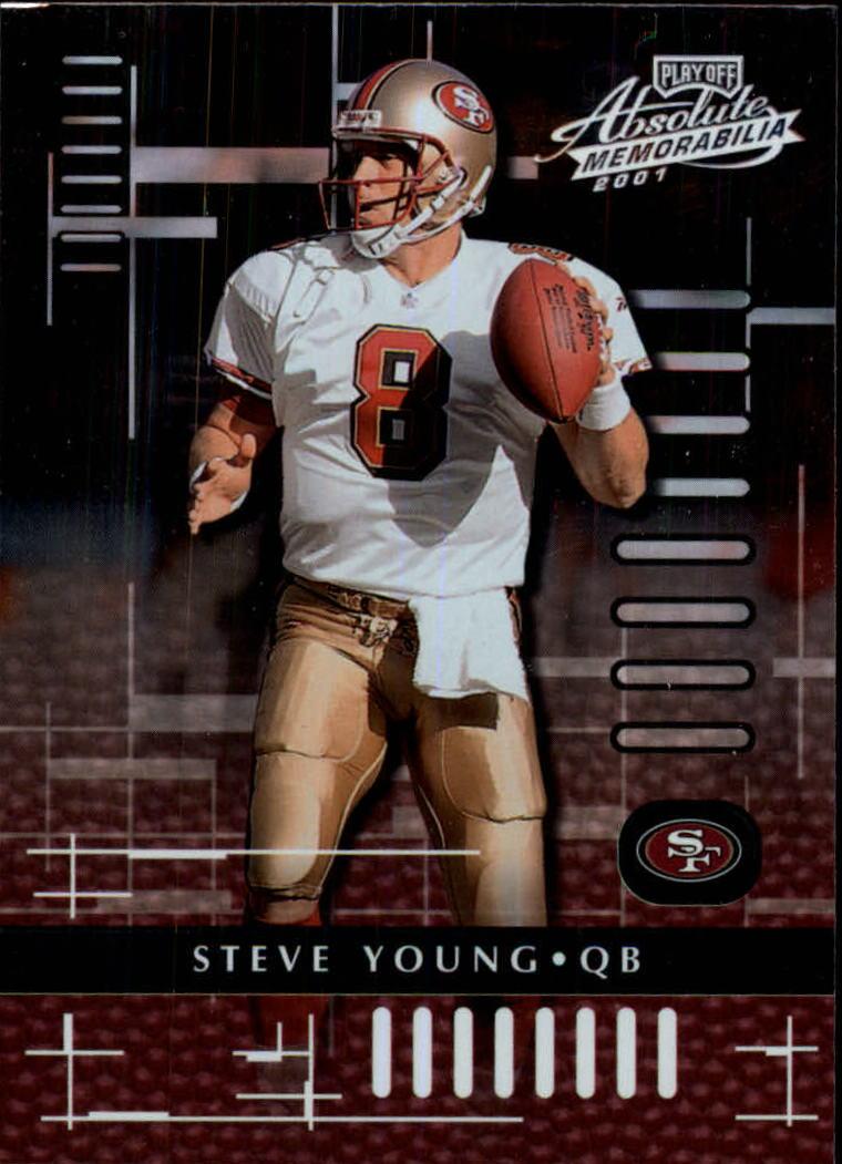 2001 Absolute Memorabilia #81 Steve Young