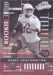 2001 Absolute Memorabilia #102 Bobby Newcombe RC