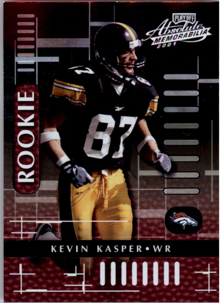 2001 Absolute Memorabilia #105 Kevin Kasper RC