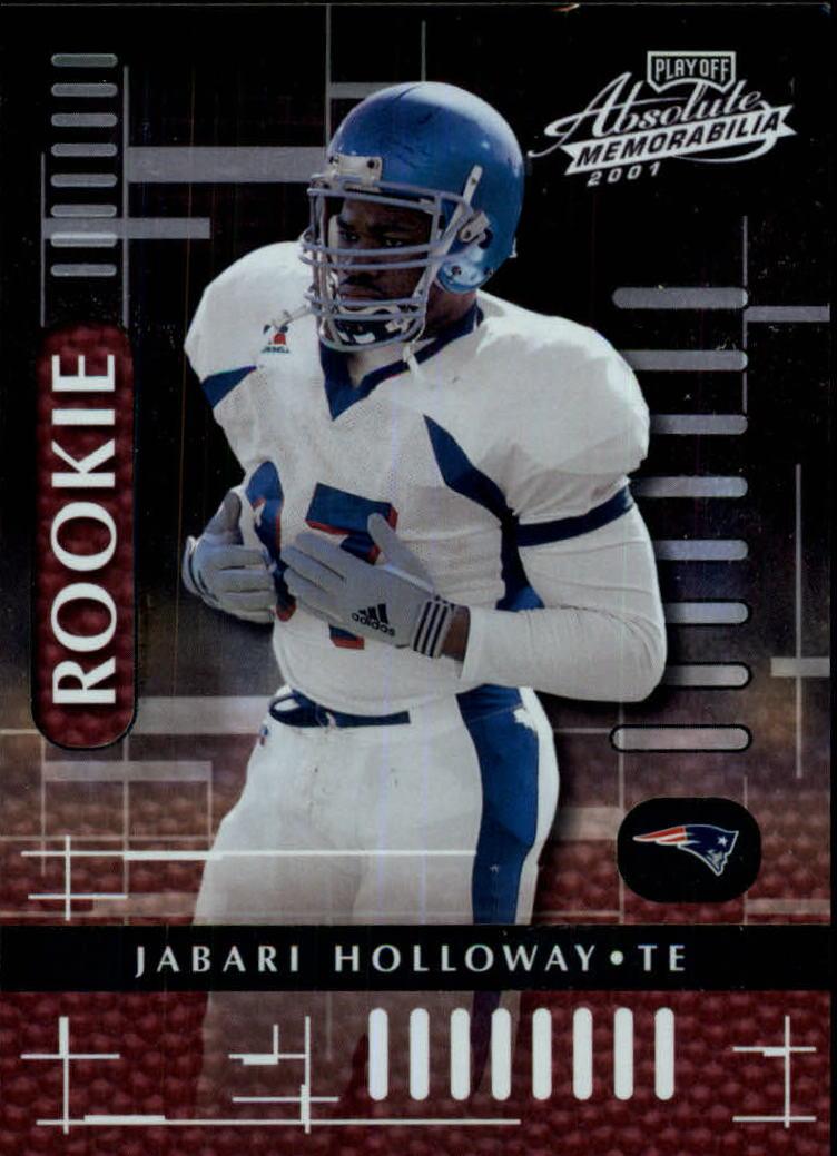 2001 Absolute Memorabilia #111 Jabari Holloway RC
