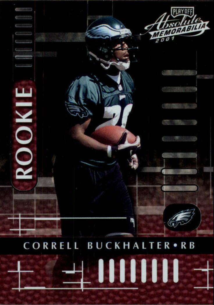 2001 Absolute Memorabilia #113 Correll Buckhalter RC