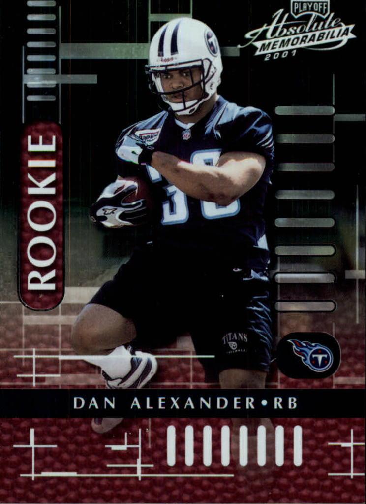 2001 Absolute Memorabilia #114 Dan Alexander RC