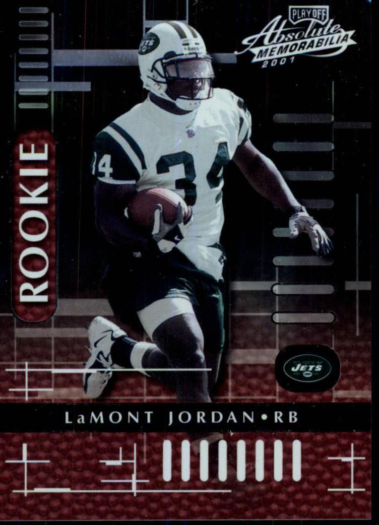 2001 Absolute Memorabilia #116 LaMont Jordan RC
