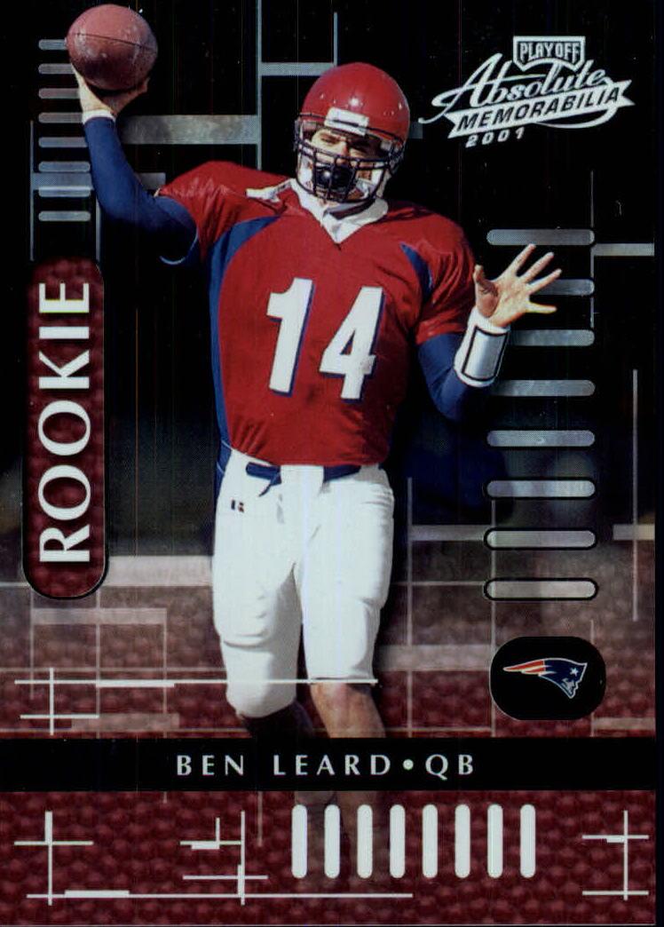 2001 Absolute Memorabilia #123 Ben Leard RC