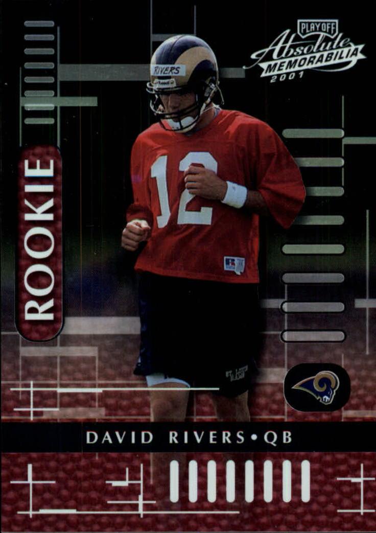2001 Absolute Memorabilia #124 David Rivers RC