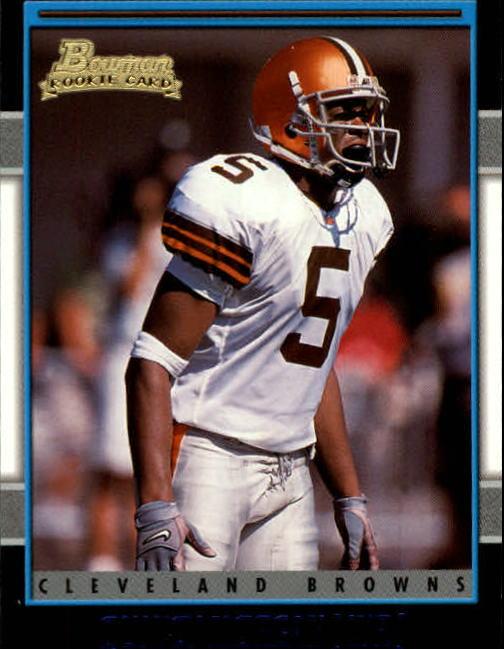 2001 Bowman #206 Quincy Morgan RC