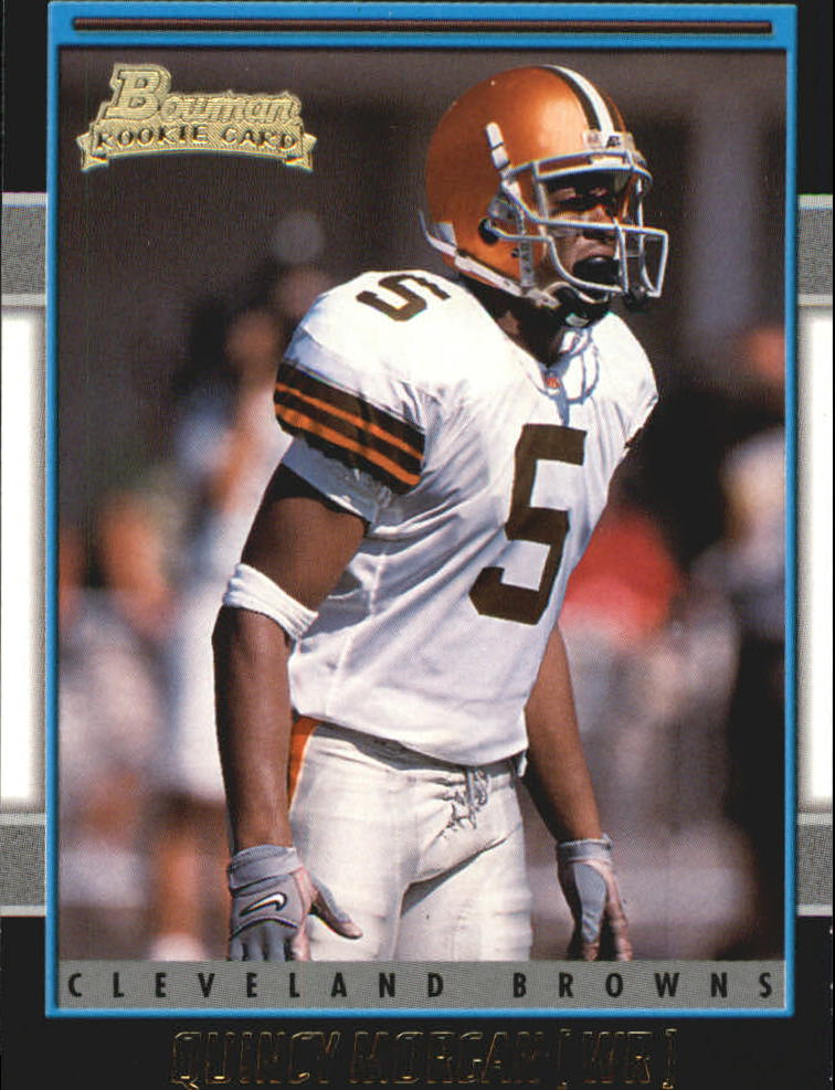 2001 Bowman Gold #206 Quincy Morgan