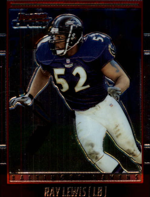 2001 Bowman Chrome #43 Ray Lewis