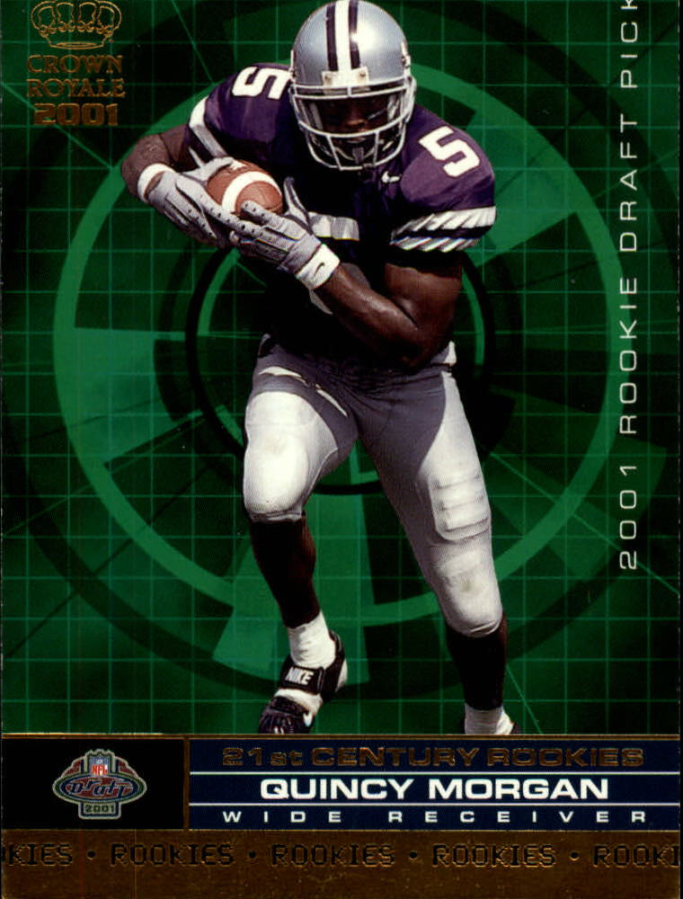 2001 Crown Royale 21st Century Rookies #17 Quincy Morgan