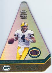 2001 Crown Royale Cramers Choice Jumbos Footballs #4 Brett Favre