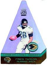 2001 Crown Royale Cramers Choice Jumbos Footballs #5 Fred Taylor