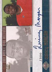 2001 Crown Royale Rookie Signatures #23 Quincy Morgan/500
