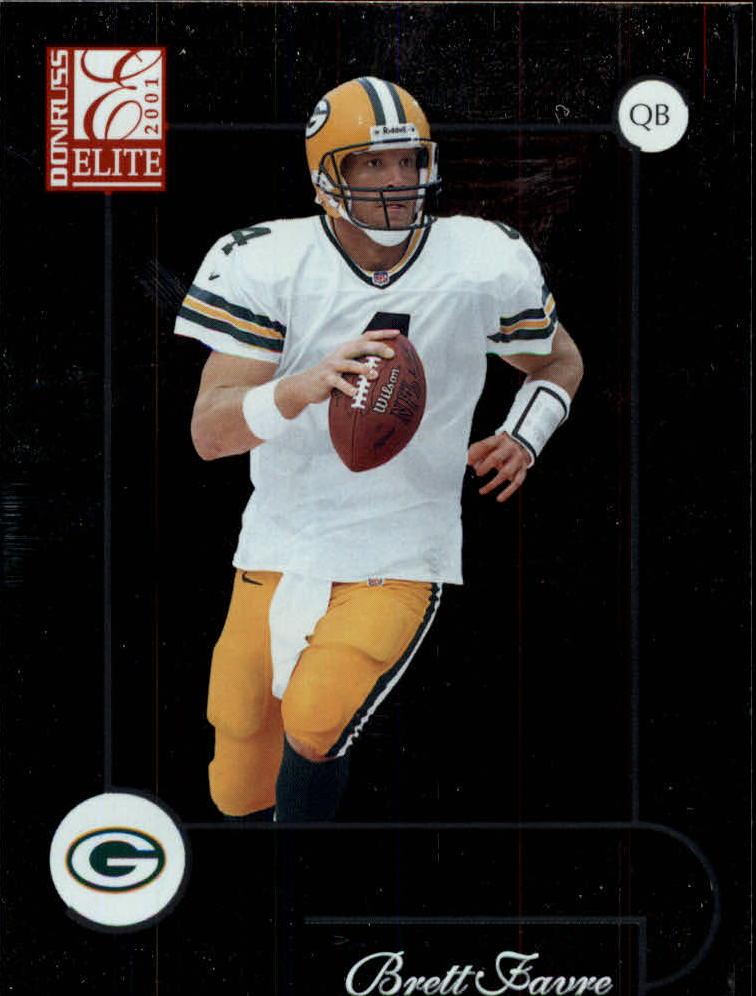2001 Donruss Elite #35 Brett Favre