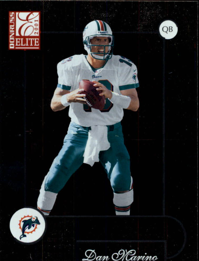 2001 Donruss Elite #47 Dan Marino