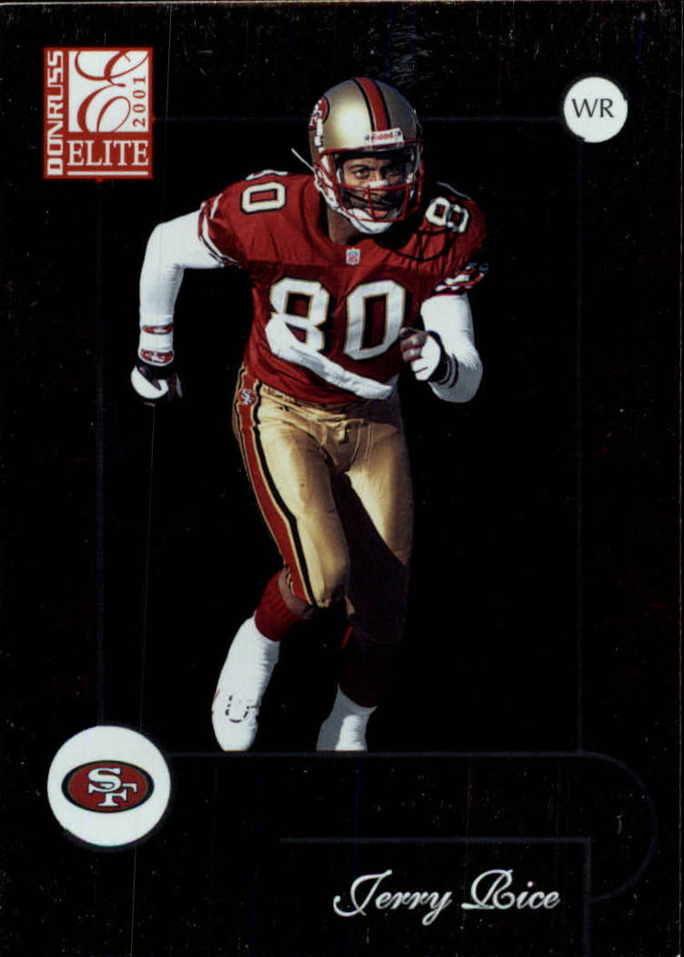 2001 Donruss Elite #78 Jerry Rice