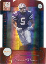 2001 Donruss Elite Aspirations #137 Quincy Morgan/95