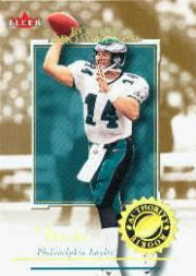 2001 Fleer Authority Prominence 75 #151 A.J. Feeley