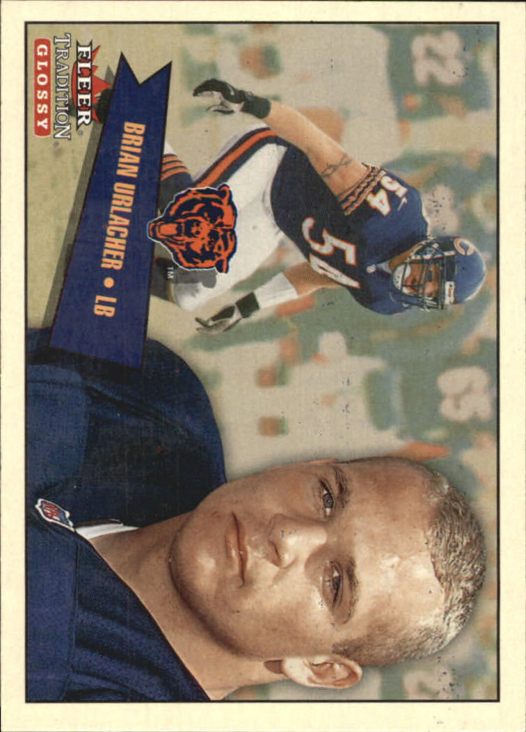 2001 Fleer Tradition Glossy #146 Brian Urlacher