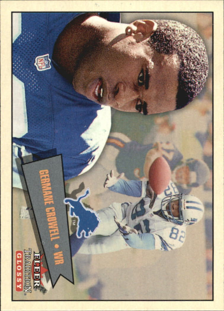 2001 Fleer Tradition Glossy #160 Germane Crowell