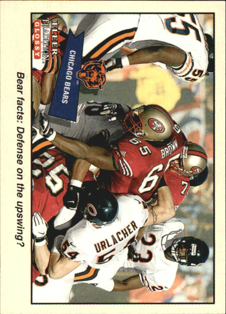 2001 Fleer Tradition Glossy #344 Chicago Bears TC